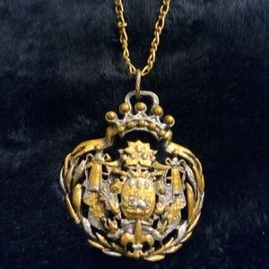 Coat of Arms medallion